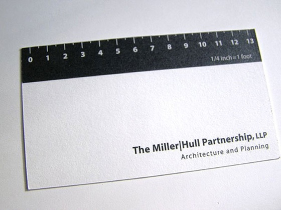 Creative architecture business card