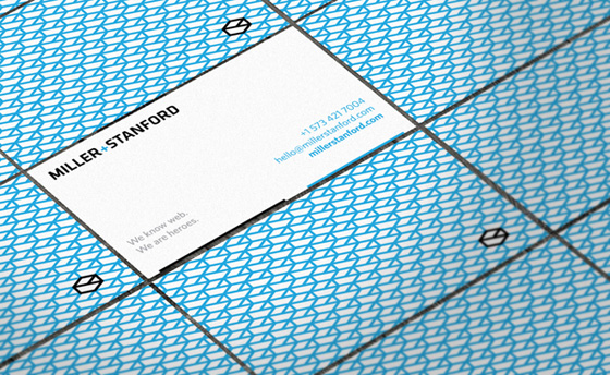 Miller Stanford business cards