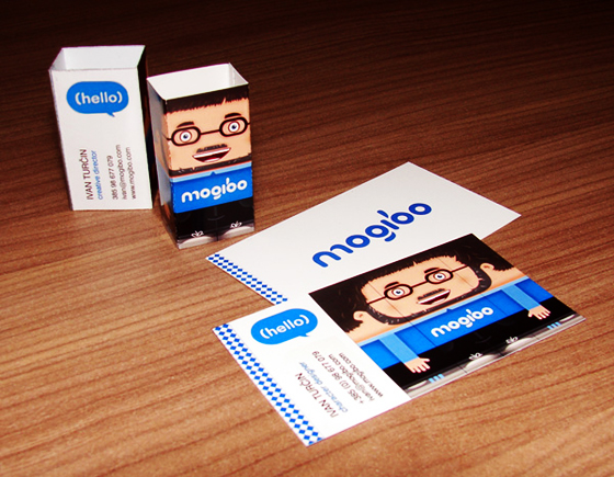 Mogibo business cards