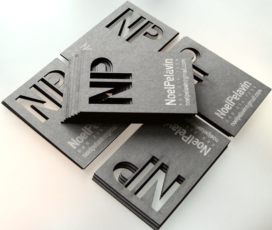 The business cards of Noel Pelavin