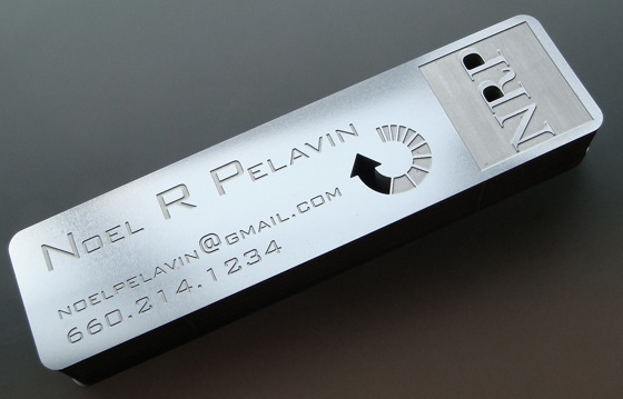 Noel Pelavin business card