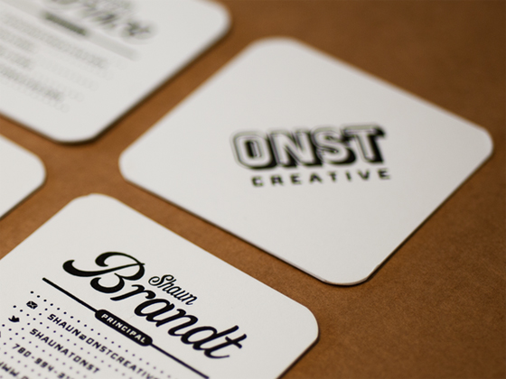 ONST Creative business cards