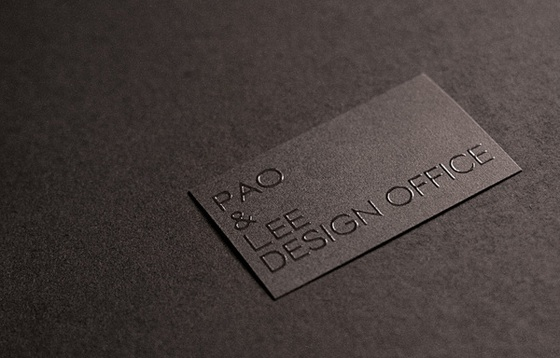 PAO and Lee's business cards