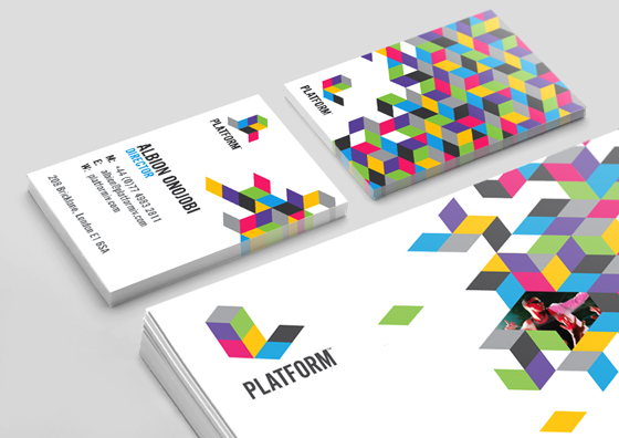 Platform business cards