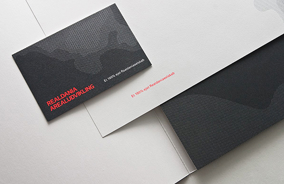 Realdania business card