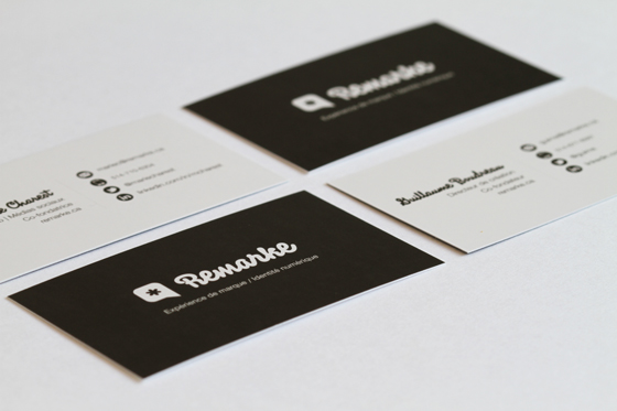 Remarke business card