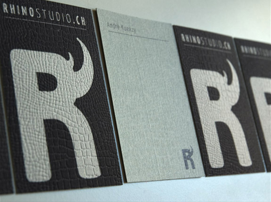 Rhino business cards