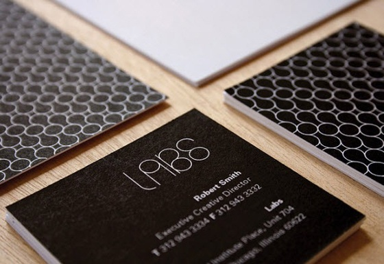 Minimal business cards design by Robert Smith