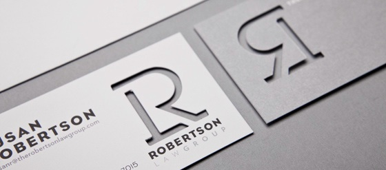 Robertson Law Group business cards