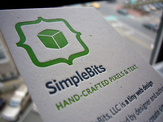 Simplebits business card