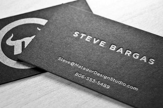 Matador business cards