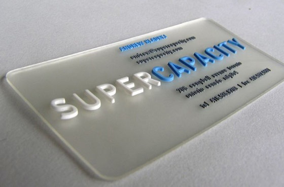 Super Capacity cards