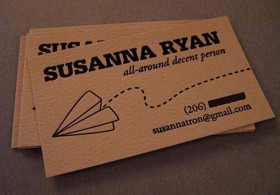 All-around decent business card