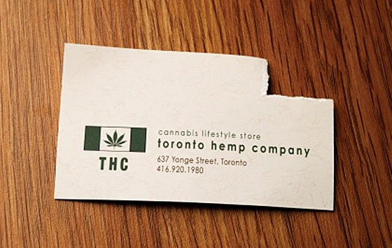 Toronto Hemp Company business card