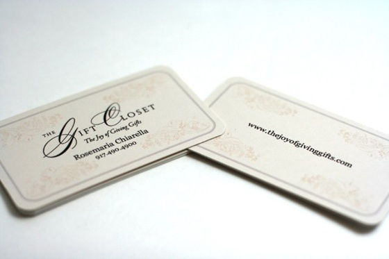 Joyful gifts business cards