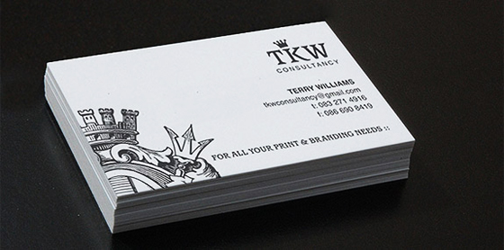 Consultancy business card