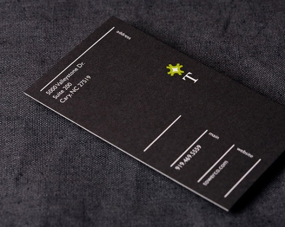 TowerCo business card