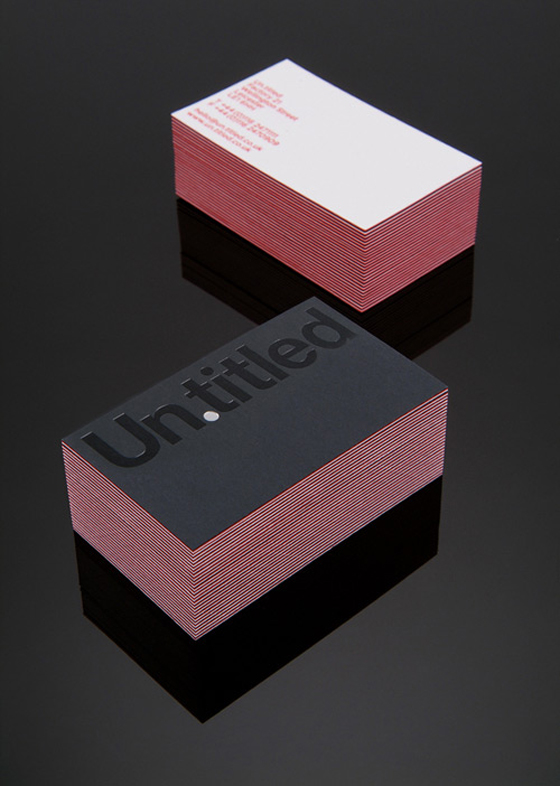 Untitled business cards