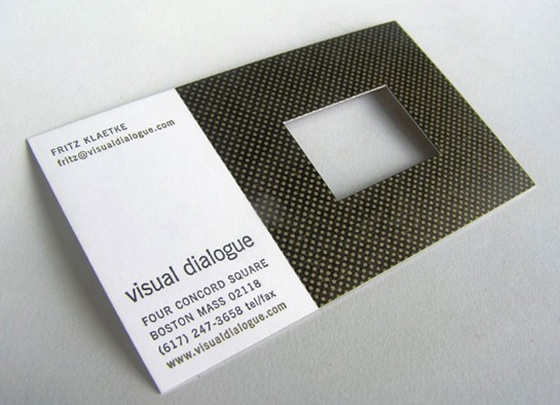Visual Dialogue business cards