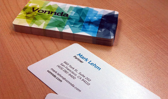 Vonnda business card