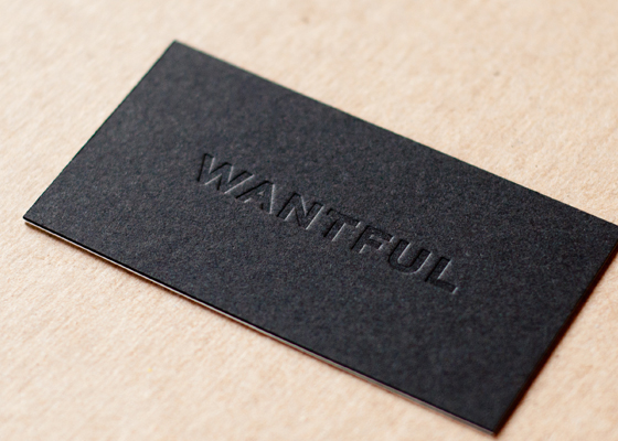 Wantful business card