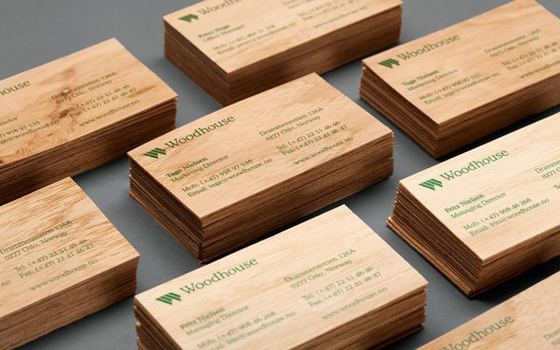 Woodhouse business cards