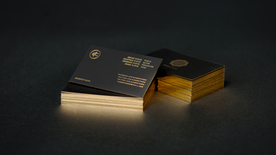 4jc brothers business cards inspiration cardfaves gold business card reheart Image collections