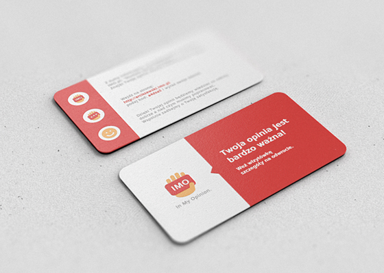 Imo business cards inspiration cardfaves rounded business card reheart Images
