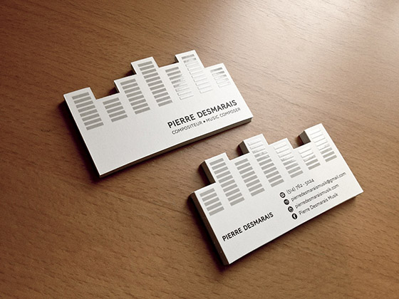 Music composer business cards inspiration cardfaves marketing business card colourmoves