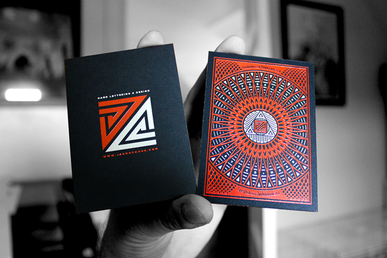Jason Carne's business cards