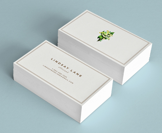 Lindsay Lane business card