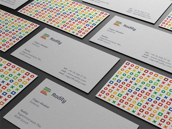 Radity business cards