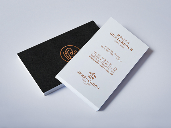 Rehancaden business cards