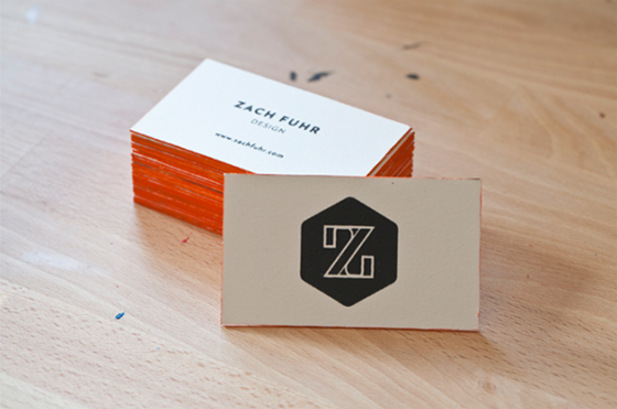 Zach Fuhr business cards