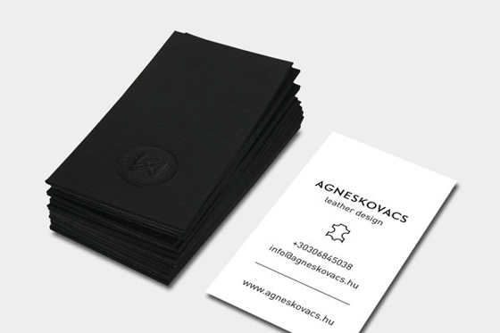 Agnes Kovacs business card