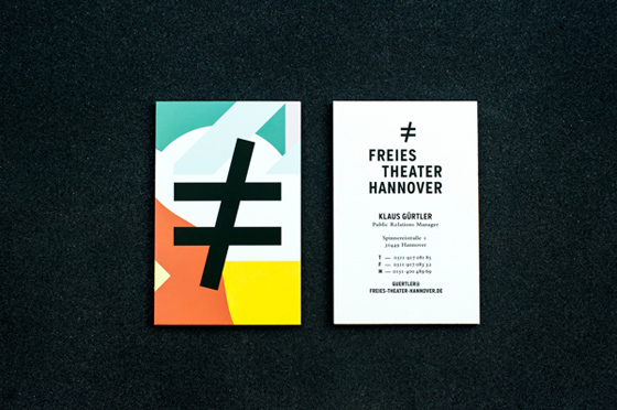 Freies Theater Hannover business card