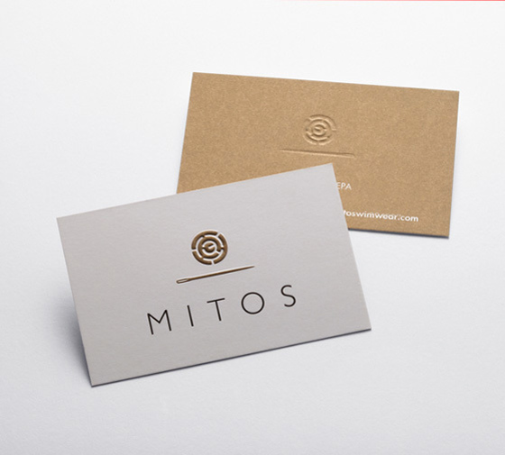 Mitos business card