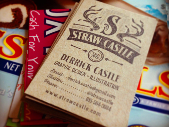 Straw Castle cards