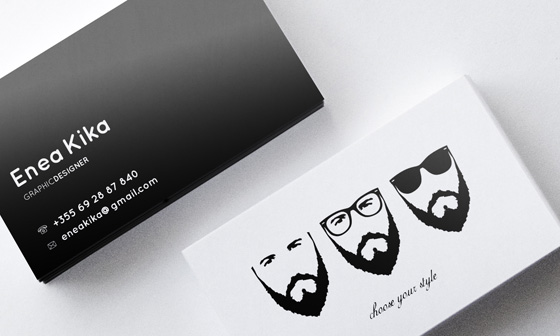 Enea Kika business card