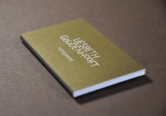 Liesbeth Goudenhooft business card
