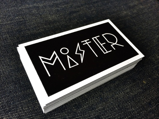Mister business cards