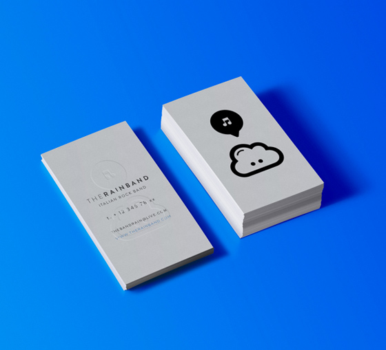 The Rainband business card