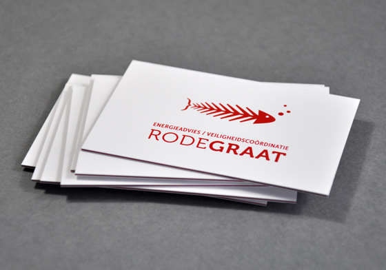 Rode Graat business card