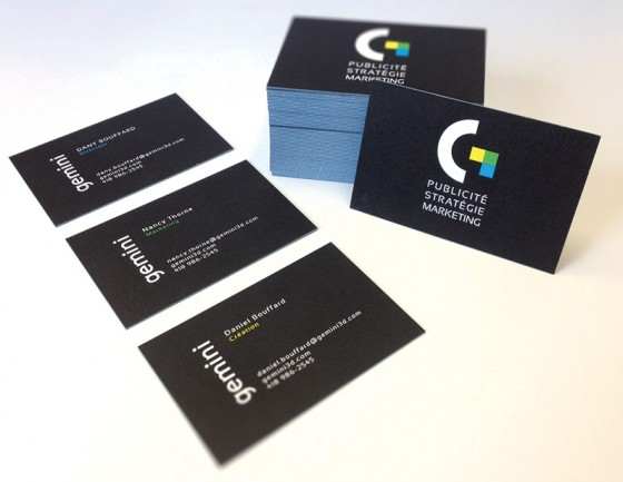 Gemini business cards
