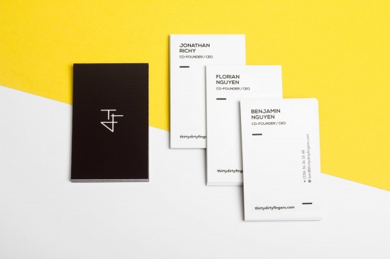 Thermo Sensitive business cards