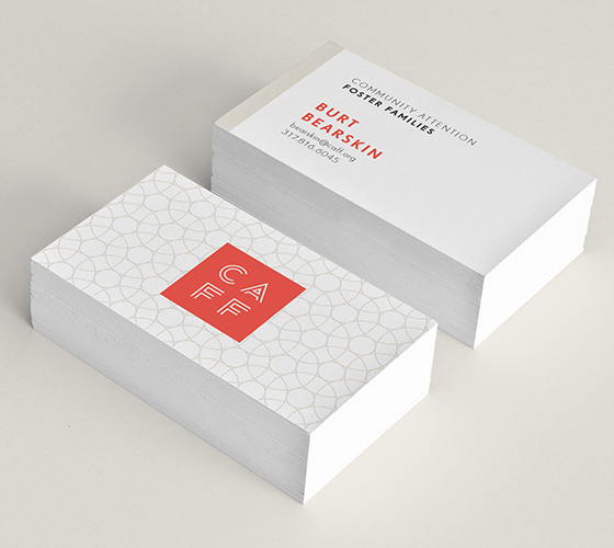 Caff business cards inspiration cardfaves minimal business card colourmoves
