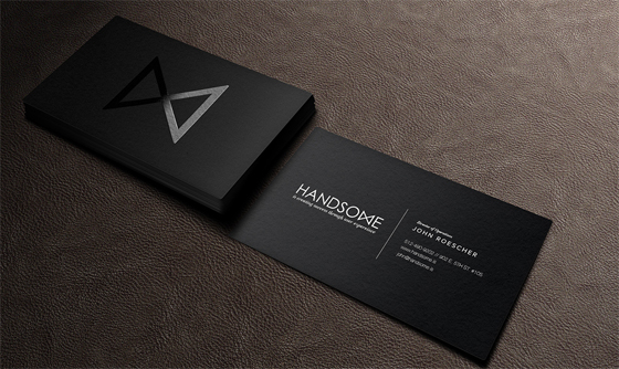 Handsome Business Cards Inspiration