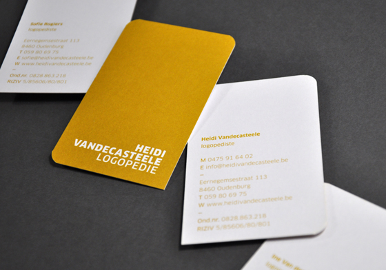 Speech therapist business cards inspiration cardfaves yellow business card colourmoves