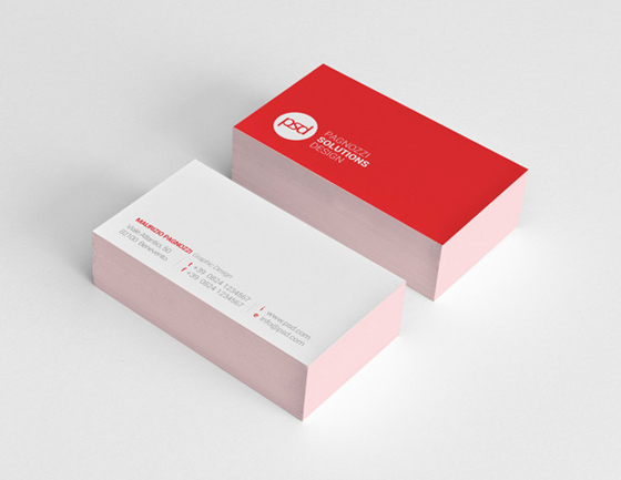 Psd business card inspiration cardfaves psd business card reheart Images