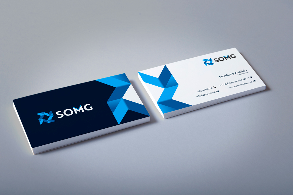 grupo somg business card inspiration cardfaves - Business Card Design Inspiration